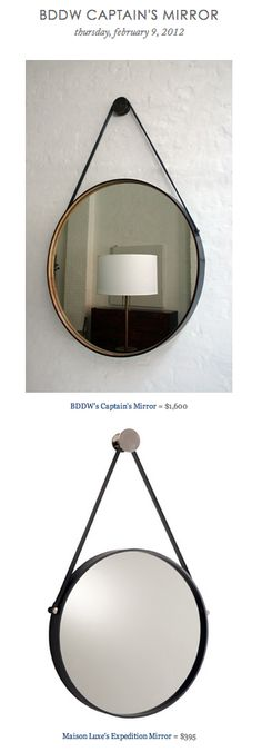 BDDW CAPTAIN'S MIRROR vs MAISON LUXE'S EXPEDITION MIRROR