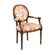 Oval Back Louis XVI Armchair