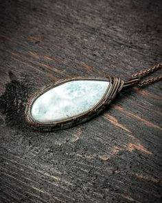 @LittleWraps posted to Instagram: A beautiful Larimar gemstone necklace is the perfect piece of boho jewelry. This crystal pendant features beautiful hues of white and blue, reminiscent of a lush tropical beach. This eye-catching azurite crystal necklace makes a beautiful handmade gift for spiritual seekers. Interested in buying this piece? Send me a DM or click the link in my bio for more details. @littlewraps #crystals #crystalhealing #crystal #crystaljewelry #crystaljewelry #bohemian… Crystal Pendant, Crystal Jewelry, Boho Jewelry, Gemstone Necklace, Crystal Necklace, Pendant Necklace, Wire Wrapping Crystals, Crystal Healing, Lush