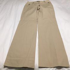 NWOT - White House Black Market khaki dress pants NWOT - White House Black Market Khaki Dress pants.  Never worn just cleaning out closet. White House Black Market Pants