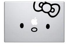 Hello Kitty Macbook Decal