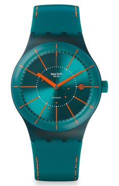 """Swatch Sistem51 Watch – Cool New Styles For 2015 """"Everyone's favorite fully robot-produced mechanical Swiss watches - the Swatch Sistem51 - is back for 2015 with five new styles that add to the original Sistem51 collection. Swatch debuted the exciting Sis"""
