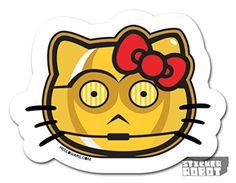 What Can We Say We Love Jose Pulidos Sticker Art Stickers - Star wars custom die cut stickers