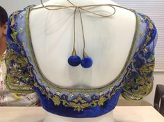 Indian Blouse, Sari Blouse, Blouse Outfit, Indian Wear, Best Blouse Designs, Saree Blouse Designs, Simple Sarees, Embroidered Blouse, Hand Embroidery