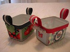 POTES DE SORVETE Handmade Crafts, Diy And Crafts, Ice Cream Containers, Plastic Containers, Diy Plastic Bottle, Craft Packaging, Pretty Box, Ivana, Plastic Laundry Basket