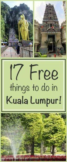 17 Free Things To Do In Kuala Lumpur - Trippin' Turpins