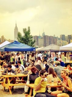 Brooklyn Flea: Food Smorgasburg on Saturdays, Flea Market extravaganza on Sundays. This is a must-see during the warm months when the outdoor market is open.