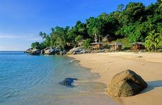 Pulau Perhentian Kecil - one of the worlds best beaches. #travel #vacation #beach