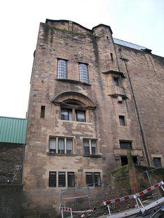Glasgow School of Art    Glasgow School of Art designed by Charles Rennie Macintosh