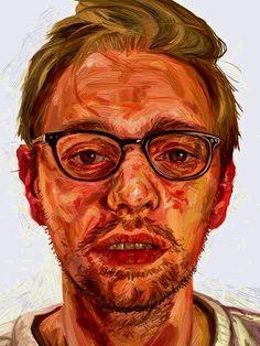 Study Of Ian Cumberland - Bp Portrait Awards 2013 Painting