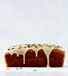 Pumpkin Olive Oil Cake with Maple Olive Oil Glaze from Snacking Cakes — Apt. 2B Baking Co.