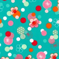 Hello Tokyo - Hana Dots in Rainbow - Lisa Tilse -   The Fabric Stash
