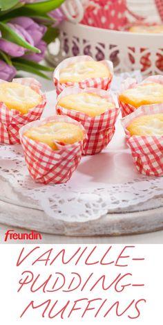 Weekend recipe: Muffins with custard - . - Weekend recipe: muffins with custard – pudding - Easy Cheesecake Recipes, Easy Cookie Recipes, Dessert Recipes, Easy Recipes, Recipes Dinner, Delicious Desserts, Whole30 Recipes, Dessert Food, Fudge Recipes