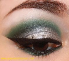 The Dark Side of Beauty: Return of the Look: Slytherin (Harry Potter), Slythrin, Urban Decay, Illamasqua, Victorian Disco Cosmetics