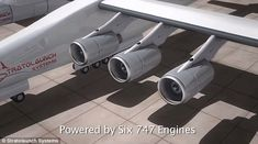 The company will look after an project to launch spacecraft and probes into orbit from of a huge carrier aircraft with a wingspan of metres). The aircraft is currently being built in California. Space Tourism, Future Transportation, Commercial Aircraft, Astronauts, Spacecraft, Techno, Plane, Microsoft, Fighter Jets