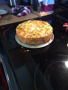 Cowboy quiche with a twist added Vegas also. NAILED IT!  Thanks Pioneer Woman!!