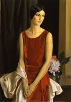 Louis Buisseret ,portrait of Mary Louise McBride