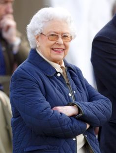 H.M. Queen Elizabeth II attends the Royal Windsor horse show, 2014.