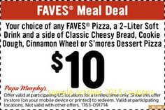Papa Murphys Coupons Ends of Coupon Promo Codes MAY 2020 ! The with from shreddings you by delicious pizza. Free Printable Coupons, Free Coupons, Printable Cards, Printables, Store Coupons, Grocery Coupons, Coupons For Boyfriend, Dessert Pizza, Extreme Couponing