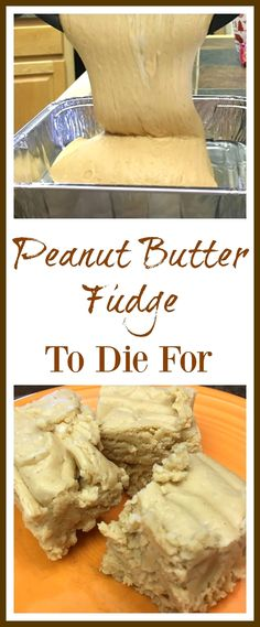 This is the best peanut butter fudge recipe around. The peanut butter fudge with marshmallow cream is easy to make and is a delicious h. Best Peanut Butter Fudge, Peanut Butter Chips, Peanut Butter Recipes, Fudge Recipes, Candy Recipes, Sweet Recipes, Dessert Recipes, Ark Recipes, Simple Recipes