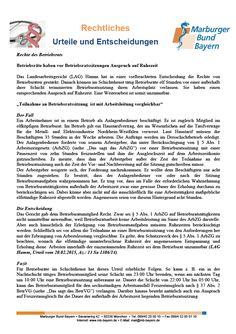 #Betriebsratsrecht: Betriebsräte haben vor Betriebsratssitzungen Anspruch auf Ruhezeit (LAG Hamm, Urteil vom 20.02.2015, Az.: 13 Sa 1386/14)