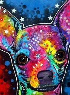 Chihuahua Star #DogArt