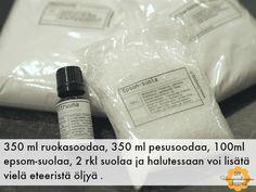 Tee itse pyykinpesujauheesi! - Siskonpaneelisoppaa Frugal, Diy And Crafts, Soap, Personal Care, Lifestyle, Bottle, Decor, Decorating, Flask