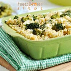 Vegan Broccoli and Rice Casserole (Gluten Free) OMG there is a god!! My favorite childhood dinner made vegan! Super duper excited!!