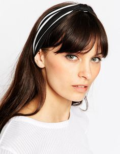 Image 1 of ASOS Pack of 2 Bow Knot Turban Headbands
