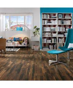 Tolles Raumklima mit #Kork - #Korkboden für nur 47,90€/m² → Haro Corkett Korkboden | Arteo - Nussbaum - Kork