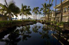 Hawaiian hotels are islands of luxury.