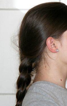 Puces à oreilles Boulettes argentées- aluminium