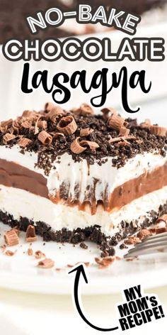 Mini Desserts, Oreo Desserts, Easy Desserts, Delicious Desserts, Yummy Food, Desserts With Cool Whip, Simple Dessert Recipes, Recipes With Cool Whip, Dessert Simple
