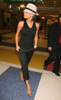 ¸.•`♥¸.•`♥It Fashion Inspiration || Street Style  Victoria Beckham's Great Sense of Style