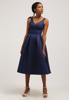 Chi Chi London BINKY - Cocktail dress / Party dress - navy Women Cocktail Dresses,chi chi london navy dress,cheapest online price