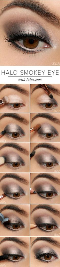 11 Simple Step By Step Make Up Tutorials For Beginners // # Beginner . 11 Simple Step By Step Make Up Tutorials For Beginners // (Diy Maquillaje) Makeup Hacks, Diy Makeup, Makeup Tips, Beauty Makeup, Makeup Ideas, Beauty Tips, Makeup Geek, Face Makeup, Makeup Trends