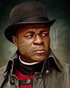 Sembene portrayed by Danny Sapani | Penny Dreadful by Hilary Heffron, Hilarious Delusions