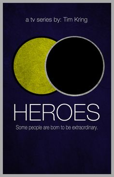 Heroes...what a great and weird show.