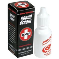 BONES SPEED CREAM Bones Speed Cream is a high temperature, low viscosity synthetic skate lubricant specially formulated by Bones to reduce friction, and provide a durable micro film of lubricant to protect against corrosion. We have found this lubricant to be superior to Teflon based lubricants in skate environments. Speed Cream R.F. makes your bearings faster and is very long lasting.