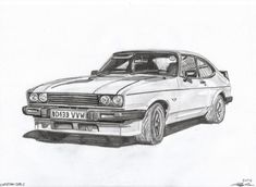 drawing ford capri - Google-søk