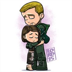 """""""""""My Brother, the Hero"""" Very tender moment...not to mention another head scratcher for Oliver right after Felicity's reaction to his return last week⁉️…"""""""