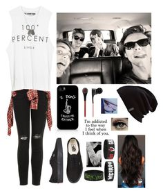 """""""Hanging out with 5 seconds of summer"""" by izzy-the-fun ❤ liked on Polyvore featuring Topshop, R13, The Laundry Room, Vans, Burton, Dsquared2 and Beats by Dr. Dre"""