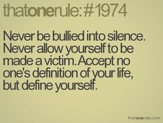 bullying quotes | Anti-Bully Blog's Quotes of the Day ~ The Anti-Bully Blog