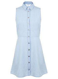 Photo 1 of PETITE CHAMBREY SHIRT DRESS