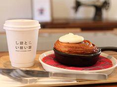 サクッパリッもっちり♡ あの『パンとエスプレッソと』の新たなカフェ! 14時販売の数量限定メニュー「焼き立てクロワッサンシナモンロール」が早くも大人気とのウワサ!