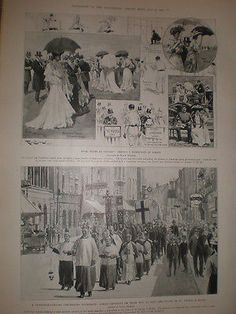 #Oxford #cambridge #cricket at lords & a canterbury pilgrimage 1905 prints,  View more on the LINK: http://www.zeppy.io/product/gb/2/331766302740/