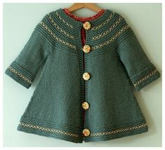 This sweater makes me want to pick up knitting again. Created by Alicia Paulson- Posie gets Cozy.