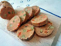 Tavaszi felvágott (vegán) - VegaLife Vegas, Muffin, Breakfast, Food, Morning Coffee, Essen, Muffins, Meals, Cupcakes