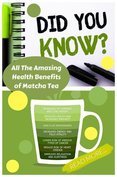 This is a long standing tradition of Japanese culture, Matcha green tea is the highest quality powdered green tea you can buy. It Is Made from the nutrient-rich young leaves that are picked from the tips of shade-grown Camellia sinensis plants, then Match Matcha Green Tea Benefits, Best Matcha Tea, Matcha Green Tea Powder, Green Powder, Matcha Drink, Green Tea For Weight Loss, Green Tea Extract, Body Cleanse, Detox Tea