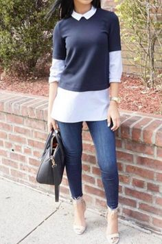 work-outfit-idea-jeans-sweater